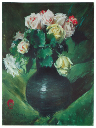 1188.Green Flower vase Art Decoration POSTER.Graphics to decorate home office.