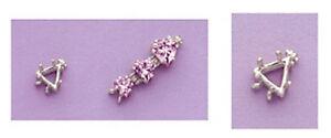 One-Sterling-Silver-Trillion-Bracelet-Link-Setting-5x5-10x10mm