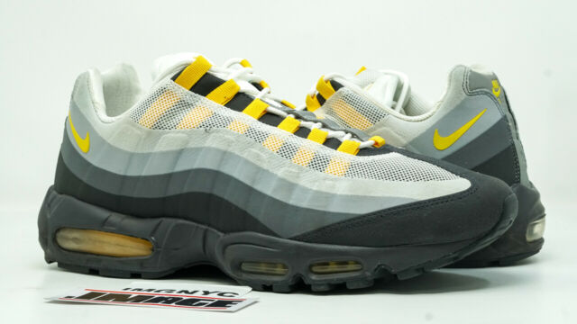 reputable site f32e5 2623c NIKE AIR MAX 95 NO SEW USED SIZE 13 ANTHRACITE MAIZE GREY WOLF 511306 071