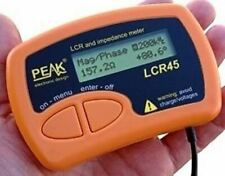Peak Atlas Lcr45 Impedance Meter Passive Component Analyzer With Manual Warranty