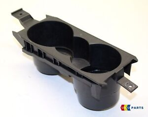 NEW GENUINE VW SCIROCCO 2009-2014 FRONT CENTER CONSOLE DRINK CUP HOLDER BLACK