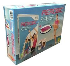 Nintendo Wii Bundle pack «FIT & FUN • AEROBIC FITNESS + FREE YOGA MAT» nuovo