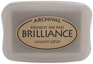 Tsukineko-Brilliance-Pigment-Ink-Fast-Drying-Acid-Free-Inkpad-Galaxy-Gold