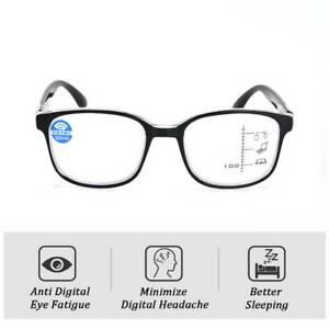 Multi-Focus-Progressive-Reading-Glasses-Anti-Blue-Light-Lens-Women-Men-Glasses