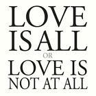 Love Is All Or Love Is Not At All von Marc Carroll (2015)