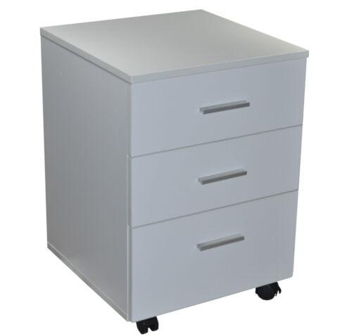1 Schreibtisch Computertisch Bürotisch Schubladen Unterstellschrank 120x60x75cm