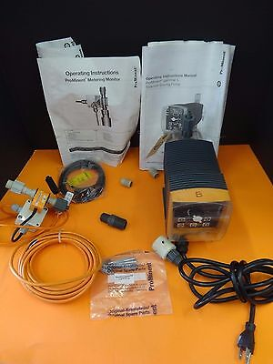 Prominent Fluid Controls Metering Monitor GALA1005NPE260UD111000 Rate 1.1 GPH