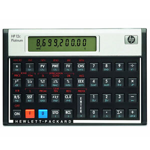 HP-12C-Platinum-Financial-Calculator