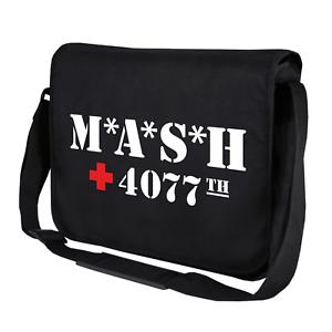 MASH-M-A-S-H-inspiriert-4070th-US-Army-Fan-Motiv-Umhaengetasche-Messenger-Bag