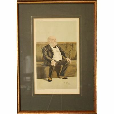 Rt Honorable William Henry Smith Original Framed Victorian Vanity Fair Spy Print