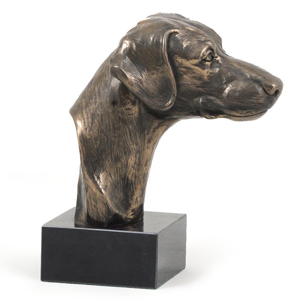 DoberFemHommes  non coupé, statue miniature / / / buste de chien, limitée, Art Dog FR d6a961