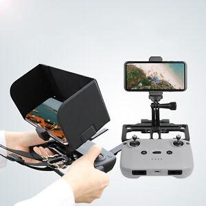2 In 1 Phone Holder with Sun Hood Set Adjustable for DJI Mavic Air 2//Mavic Mini