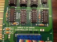 APPLE 820-5003-D IIE 5.25 DRIVE CONTROLLER BOARD - 820-5003-D. Vintage Mac