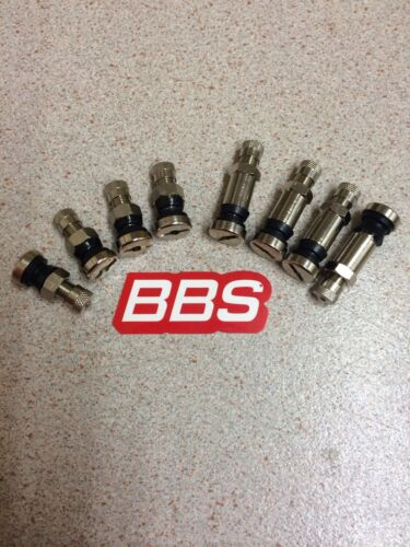 BBS O.Z stainless OE Tyre Valves 8mm Genuine Brand New 42mm Tall RS RM RC RX RF