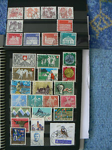 Schweiz ab MiNr. 555 ab 1951 - Tuttlingen, Deutschland - Schweiz ab MiNr. 555 ab 1951 - Tuttlingen, Deutschland