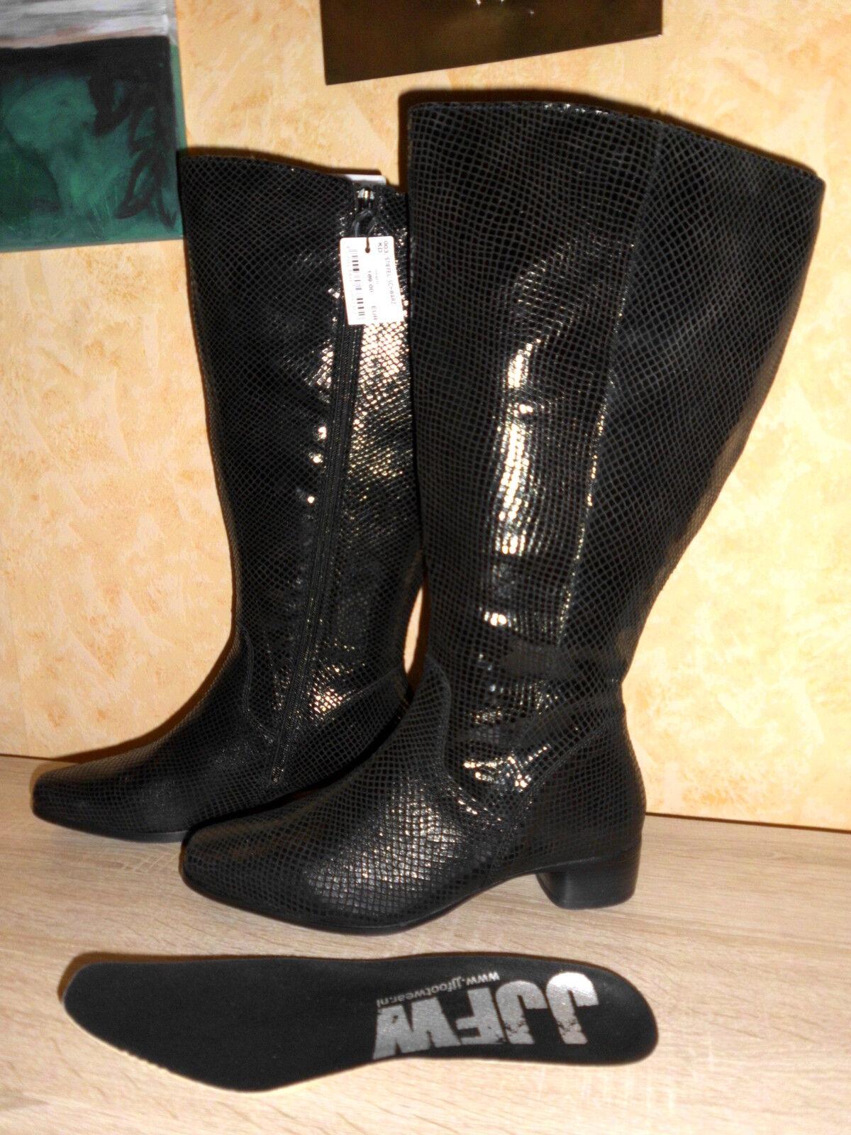 JJFootwear XXL Weitschaft 43 Stiefel Reitstiefel in schwarz NEU Gr. 43 Weitschaft super chic 62479f