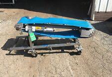 Incline Conveyor Stainless Steel Construction Van Der Graaf Drum Motor V Guided