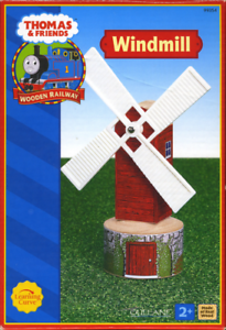 Extremely Rare Red 2002-04 Red Label Thomas The Tank Wooden  Windmill  LC99354
