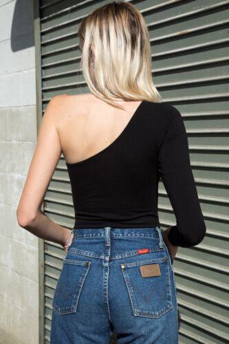 Etichetta Nuova Body Monospalla Nero Melville Brandy Pantalone Blythe Tanga Con 6TAzwxq