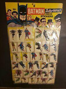 Batman Vintage 70s Super Foes Rare FULL DISPLAY