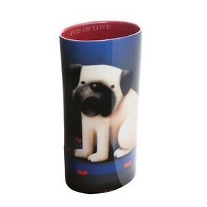 Pug-of-Love-by-Doug-Hyde-Ceramic-Vase-from-John-Beswick-Collection