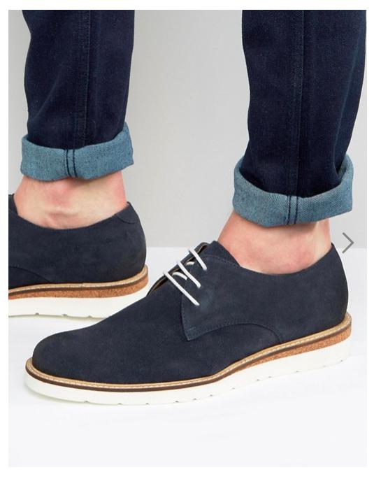 Scarpe blu blu e  vintage  presa