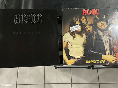 AC DC 2 Album Vinyl Lp Lot Back In Black Highway To Hell ...