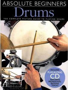 Absolute Beginners Drums Apprendre à Jouer Livre + Cd-afficher Le Titre D'origine Nous Prenons Les Clients Comme Nos Dieux