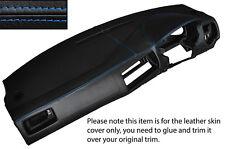 BLUE STITCH DASH DASHBOARD SKIN COVER FITS VW GOLF MK4 4 IV BORA JETTA 98-05