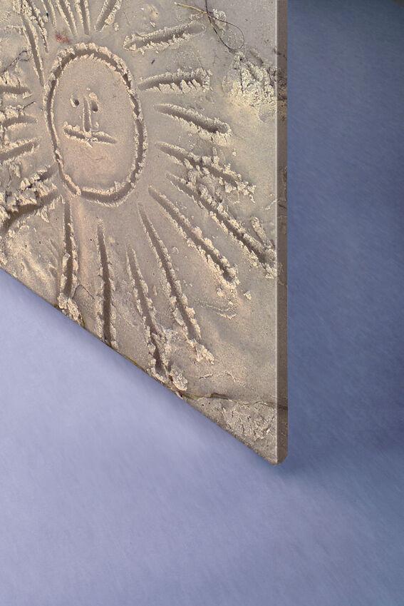 Leinwand auf Holz-Keilrahmen 120x120 cm B1   wasserfest
