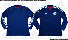 Soccer Scotland 14/15 Home Model Player Issued adidas Adizero LS Jersey(10/XL)