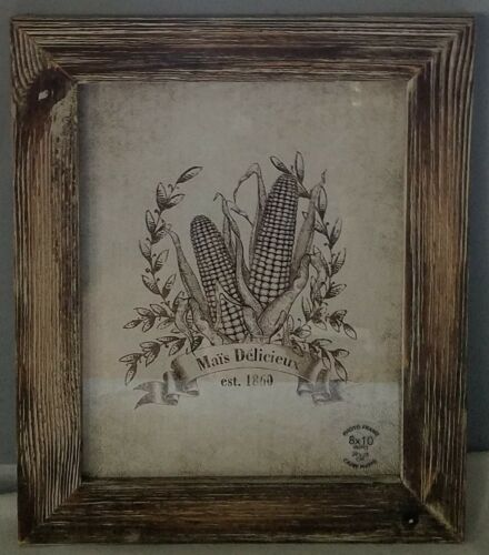 New Rustic Barn Wood Climate Brown Picture Photo Artwork Frame 8 x 10 inch