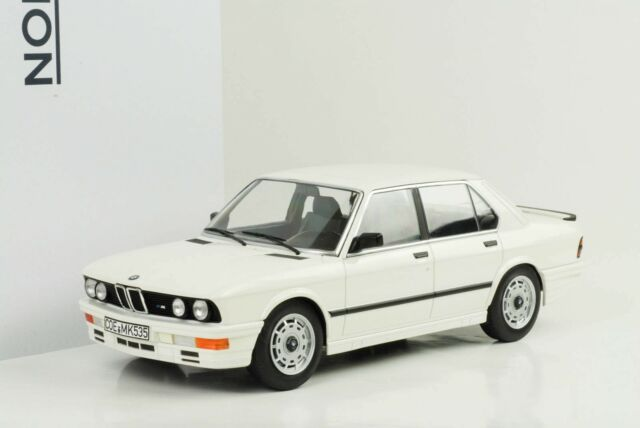 1986 BMW E28 M M535i Weiss 1:18 Norev 183260