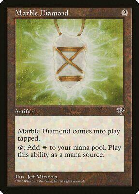 Marble Diamond Mirage PLD-SP Artifact Uncommon MAGIC THE GATHERING CARD ABUGames