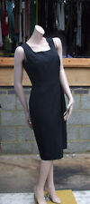 W Woman BHS BNWT UK 10 Fabulous Black Sleeveless Classy Dress Ring Detail NEW
