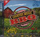 COUNTRY MUSIC BBQ VOLUME 1 - VARIOUS ARTISTS on 2 CD's