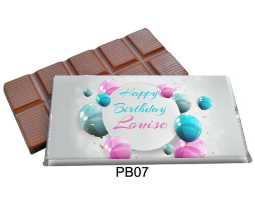 25 PERSONALISED CHOCOLATE BAR FAVOURS CHRISTENING NEW ANNIVERSARY BIRTHDAY