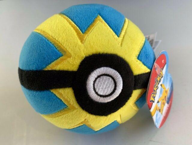 Pokemon Quick Ball 5-Inch Pokeball Plush