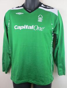 a74ca312f8 Image is loading Umbro-Nottingham-Forest-2007-GK-Goalkeeper-Football-Shirt-