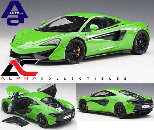AUTOART 76042 1 18 McLaren 570 S (Mantis Vert  Noir Roues) Supervoiture  pour votre style de jeu aux meilleurs prix