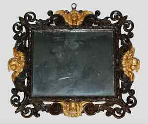 Image Is Loading 17th Century Baroque Gilt Stucco And Carved Wood