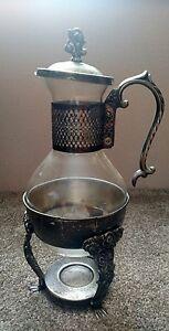 Antique English Silver Coffee Urn