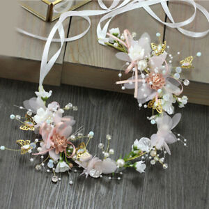 Women-Girl-Princess-Crown-Headband-Wedding-Bridal-Hair-Decoration-Wreath-Garl-OZ