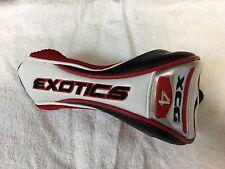 New TourEdge Exotics XCG4 Hybrid  Headcover Free SHIPPING TO US