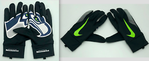 Nike NFL Stadium Fan Gloves Seattle Seahawks Men/'s Large Black//Ghost Green