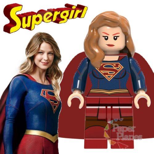 Supergirl Maßgeschneidert Minifigur Passt Lego Toy DC Comics X759