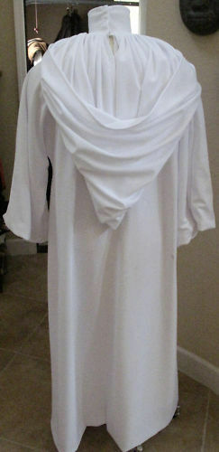 Princess Leia Ceremonial dress,jet set poly,doubled /& RL accurate in 5 sizes