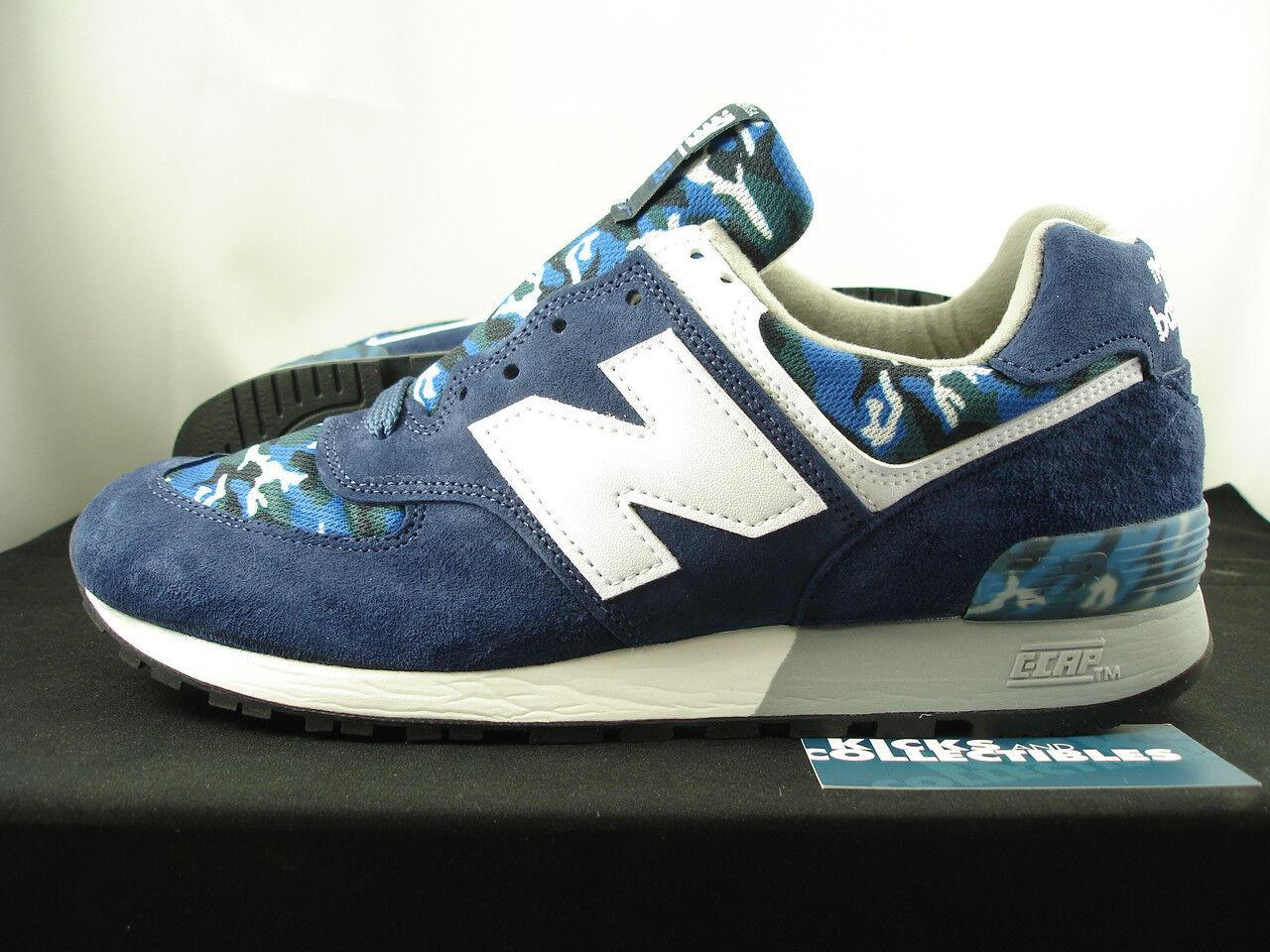 New Balance 576 Made In USA CAMO 12 US576CM1 blue navy burn rubber 577 1600