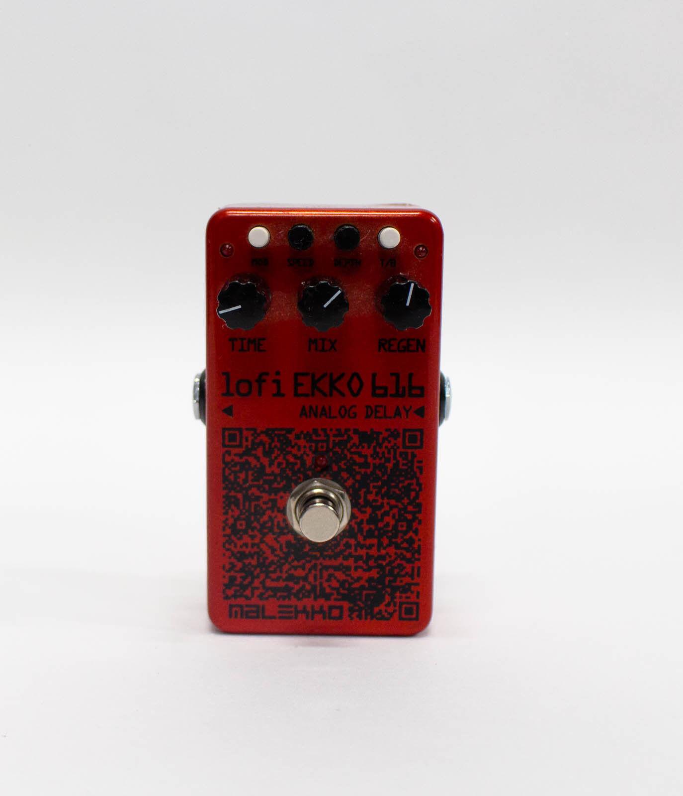 Malekko LoFi Ekko 616 V1 Delay Guitar Effect Pedal