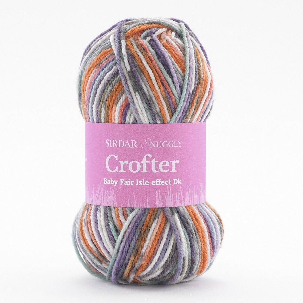 250g 0150 Bonnie 4ply Baby Crofter Sirdar Snuggly 5 x 50g Balls
